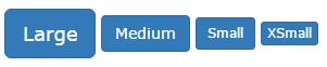 انواع دکمه در بوت استرپ